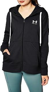 Under Armour Women's Rival Fleece Full Zip Warm-up Top