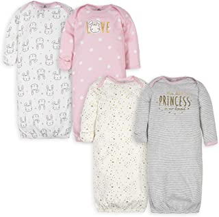 Baby Girls' 4 Pack Gowns