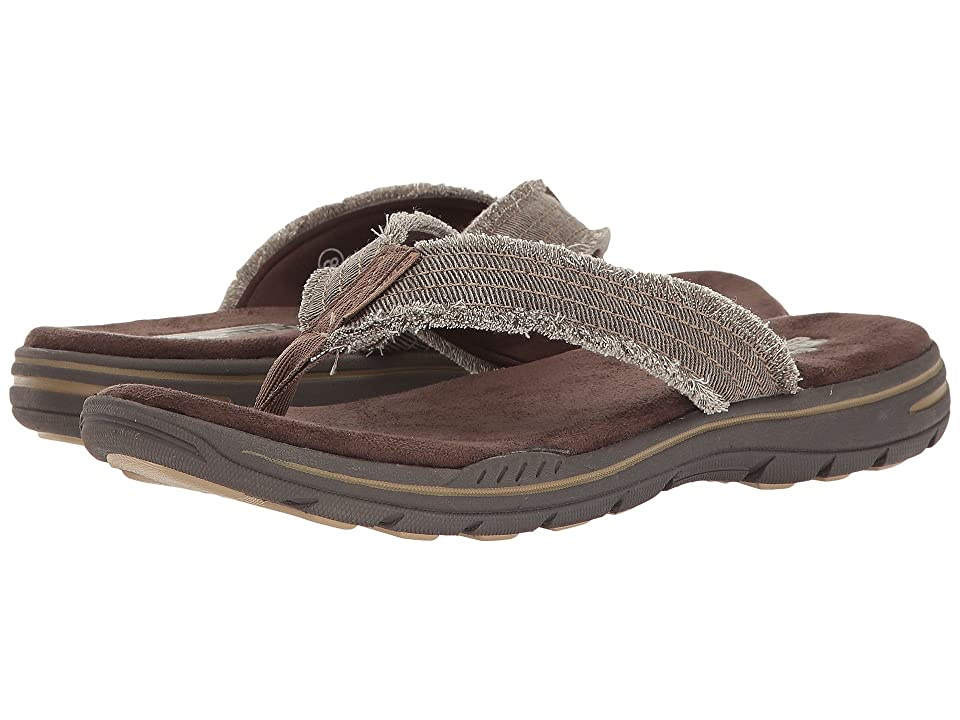 SKECHERS Relaxed Fit(r): Evented Arven (Chocolate) Men