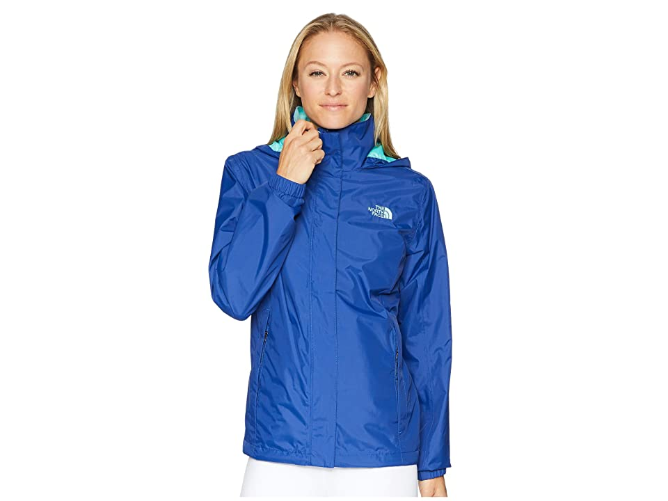 The North Face Resolve 2 Jacket (Sodalite Blue/Mint Blue) Women