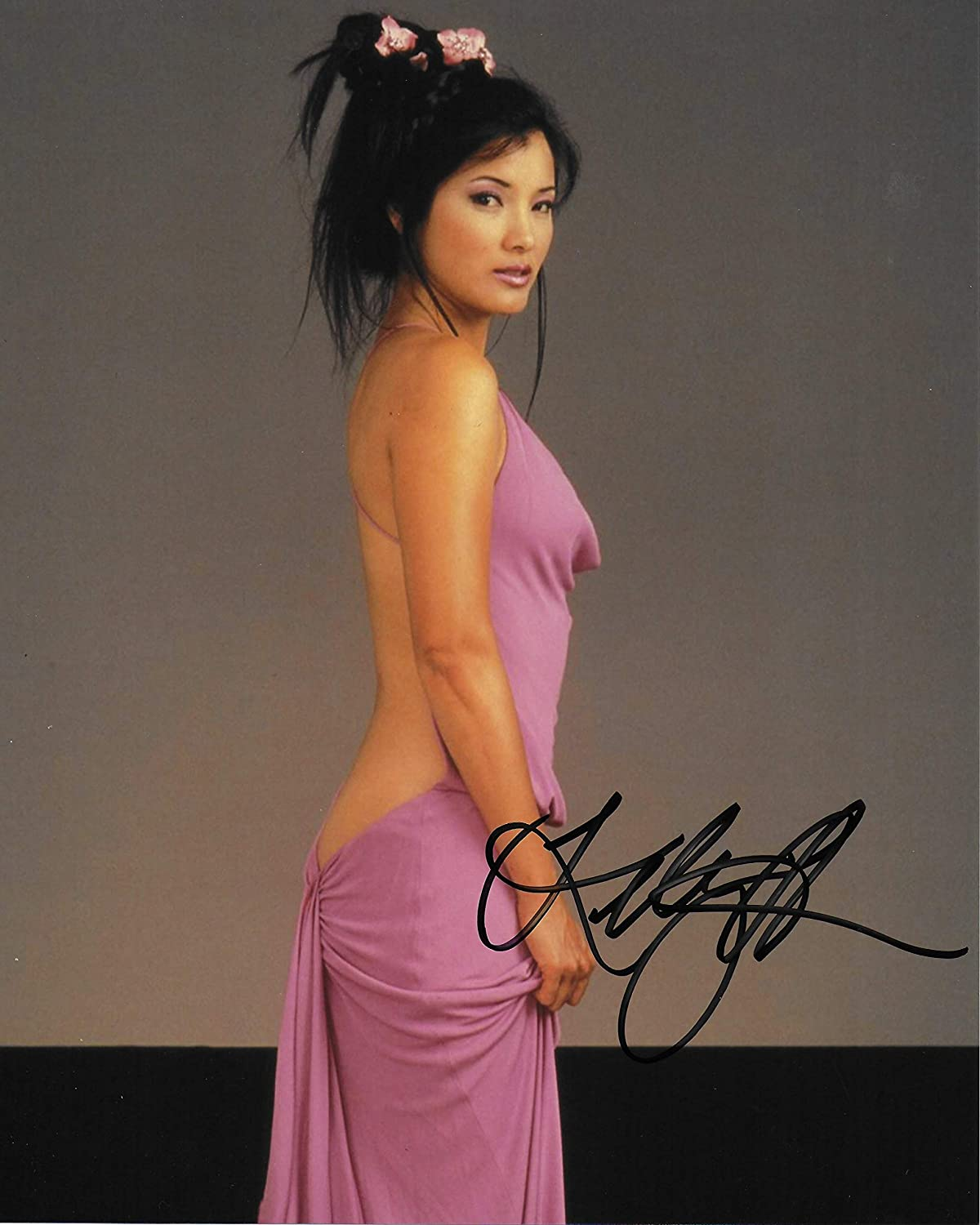 Kelly Hu 8X10 Original #3 Photo National uniform free shipping Autographed All items in the store