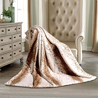 Hotel Premier Luxury Oversized Faux Fur Throw Blanket 60