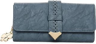 Butterflies Women Stylish Wallet (Blue) (BNS 2446BL)