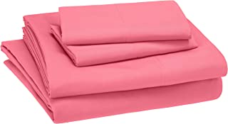 AmazonBasics Juego de sábanas, microfibra suave y fácil de