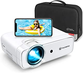 VANKYO Leisure 430W [2020 Upgraded] Mini Wi-Fi Projector, Full HD 1080P Supported Projector with...