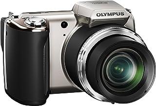 OLYMPUS デジタルカメラ SP-620UZ シルバー 1600万画素 光学21倍ズーム DUAL IS ハイビジョンムービー 3.0型LCD 広角25mm 3Dフォト機能 単三電池対応 SP-620UZ SLV