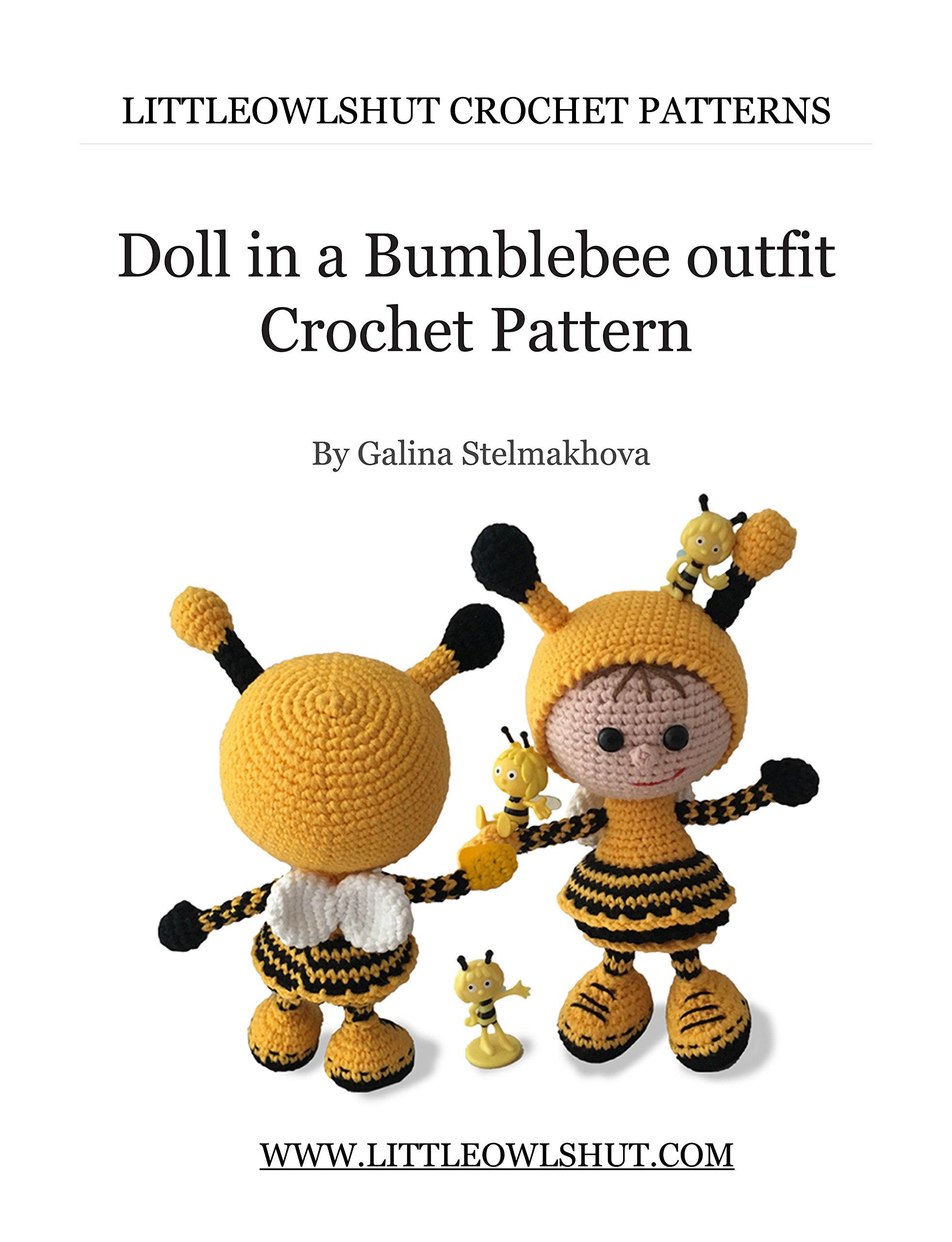 How to Crochet a Bumble Bee    Amigurumi Pattern Tutorial - YouTube   2560x1962