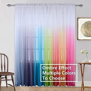 Best pastel rainbow curtains Reviews