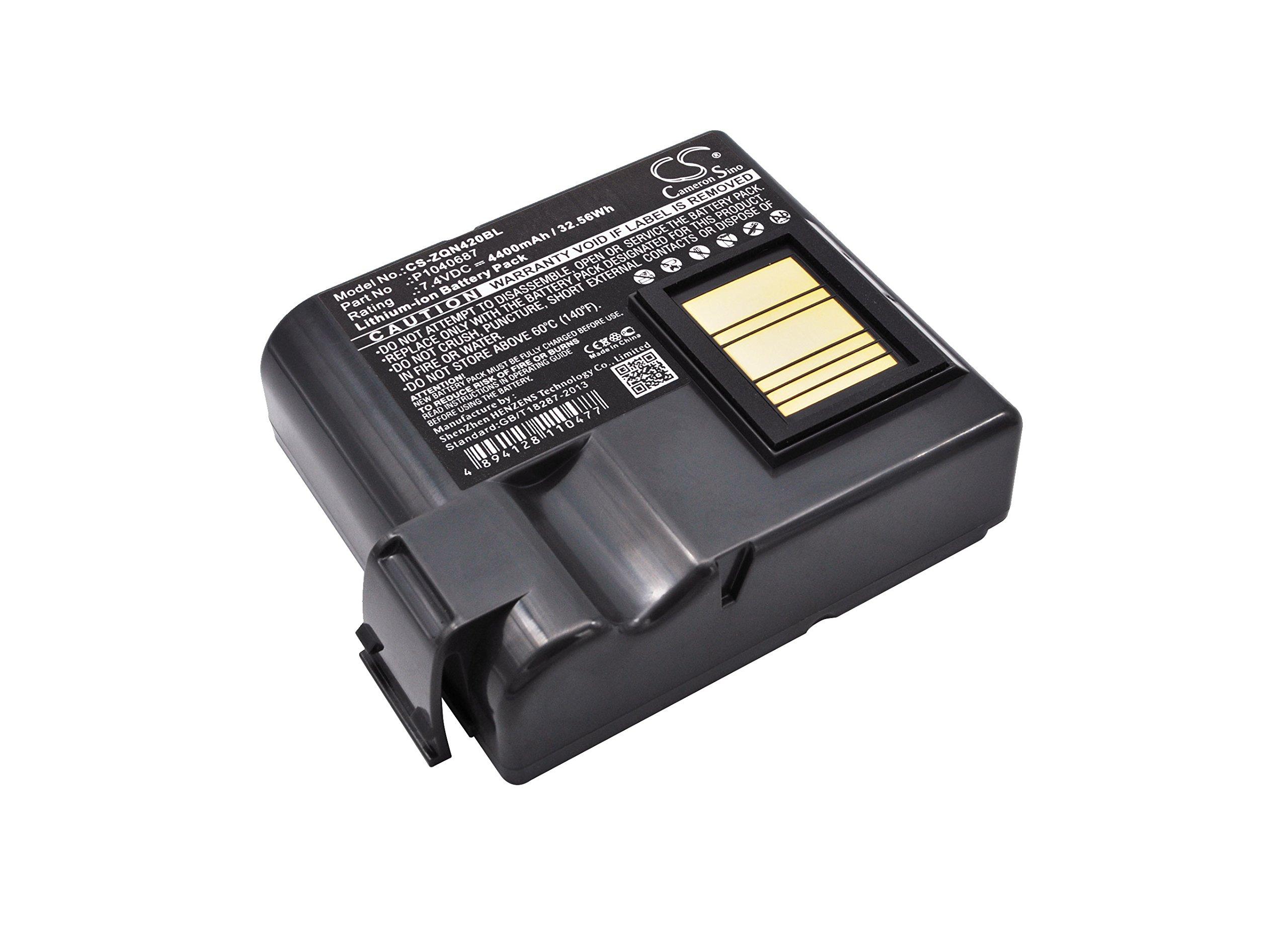 Bateria Para Zebra QLN420 ZQ630 P N BTRY-MPP-68MA1-01 P10406