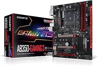 GIGABYTE GA-AB350-Gaming 3 (AMD RYZEN AM4/ B350/ RGB Fusion/ Smart Fan 5/ HDMI1.4/ M.2/ SATA 6Gbps/ USB 3.1 Type-A/ ATX/ D...