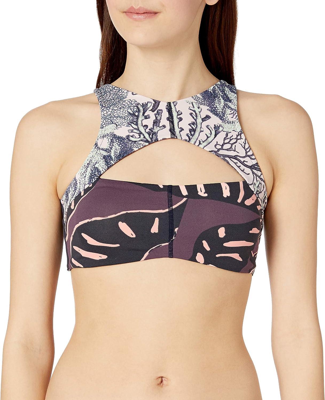 Maaji Women's Choco Toucan Bikini Top Swimsuit