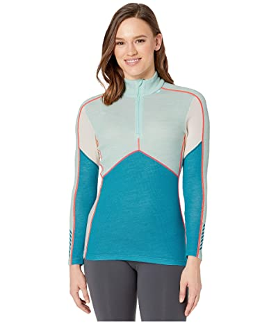 Helly Hansen Lifa Merino 1/2 Zip (Blue Wave) Women