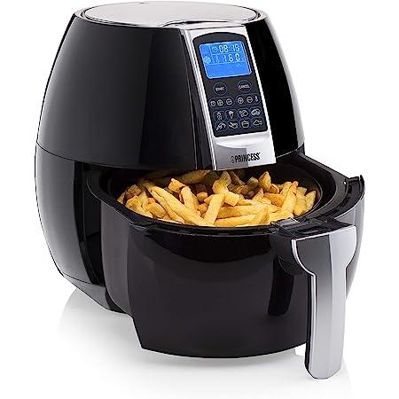 Friteuse sans huile Princess Airfryer XL - 800 g de frites - Pour 5 personnes - 3,2 L - 1 500 W - Panneau de contrôle digital