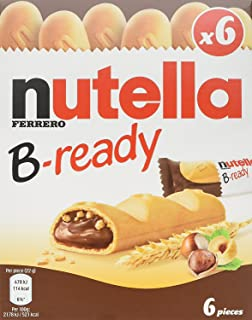 Nutella B-ready 6 bar multipack 132 g (Pack of 2)