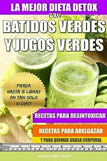 La Mejor Dieta Detox Con Batidos Verdes y Jugos Verdes: