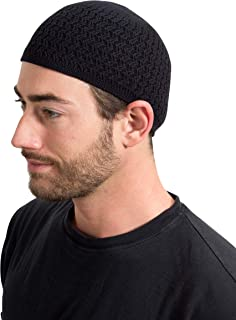 Candid Signature Apparel Zigzag Knit Kufi Hat Skull Cap One Size Fits All Men Women Chemo