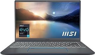 """MSI Prestige 14 EVO Professional Laptop: 14"""" FHD Ultra-Thin Bezel Display, Intel Core i7-1185G7, Intel Iris Xe, 16GB RAM, ..."""