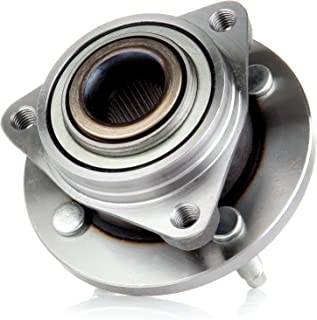 SCITOO Compatible with 513205 Front Wheel Hub Bearing Left Or Right fit Cobalt Pontiac G5 Saturn Ion W/O ABS