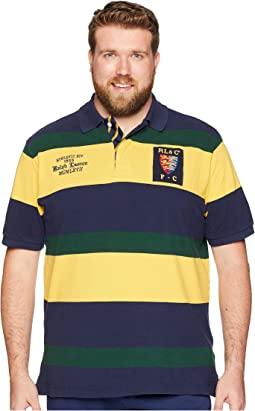 Big & Tall Mesh Polo