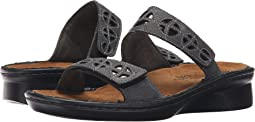 Reptile Gray Leather/Glass Brown