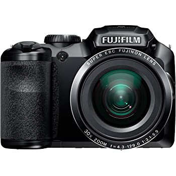 Fujifilm FinePix S6800 16MP Digital Camera with 30x Optical Zoom and 3-Inch LCD (Black) (OLD MODEL)