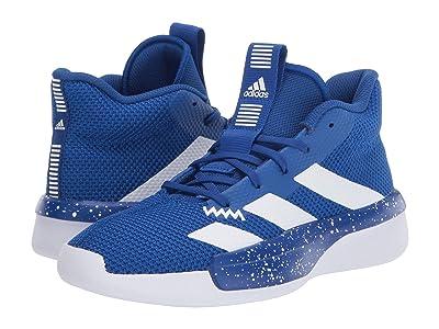 adidas Kids Pro Next 2019 Basketball Wide (Little Kid/Big Kid) (Team Royal Blue/White) Kid