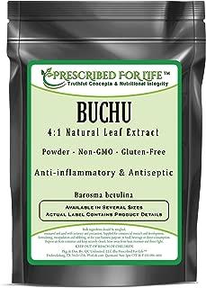 Best barosma betulina leaf extract Reviews