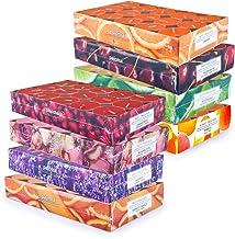 pajoma fragrance tea light bougies parfumées fraîches et fruitées printemps été, 8x 30 tea lights