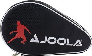 JOOLA Pocket Double Tafeltennishoes voor 2 waterafstotende tafeltennistassen, zwart/rood, 28 x 17 x 4 cm