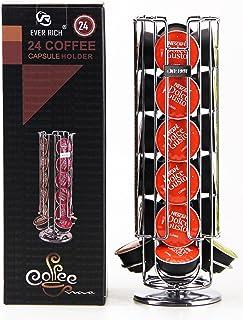 Ever Rich ® Soporte giratorio para cápsulas de café Dolce Gusto, (capacidad de 24 cápsulas)