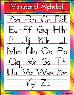 TREND enterprises, Inc. Manuscript Alphabet Zaner-Bloser Learning Chart, 17