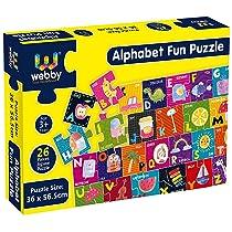Webby Alphabets Floor Puzzle