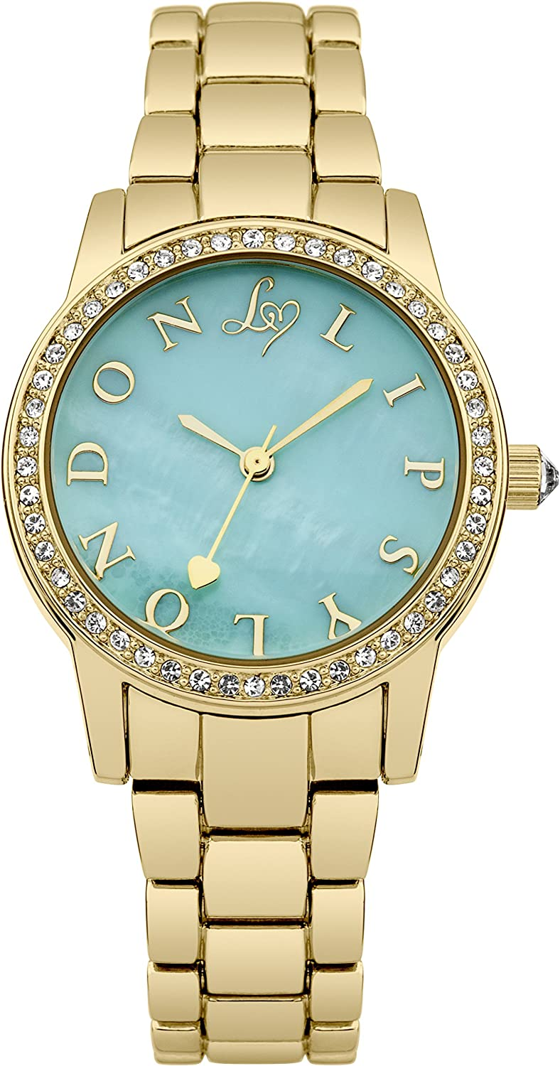 Lipsy Max 75% Inventory cleanup selling sale OFF Women's Quartz Watch with Dial Green Display Analogue Mint
