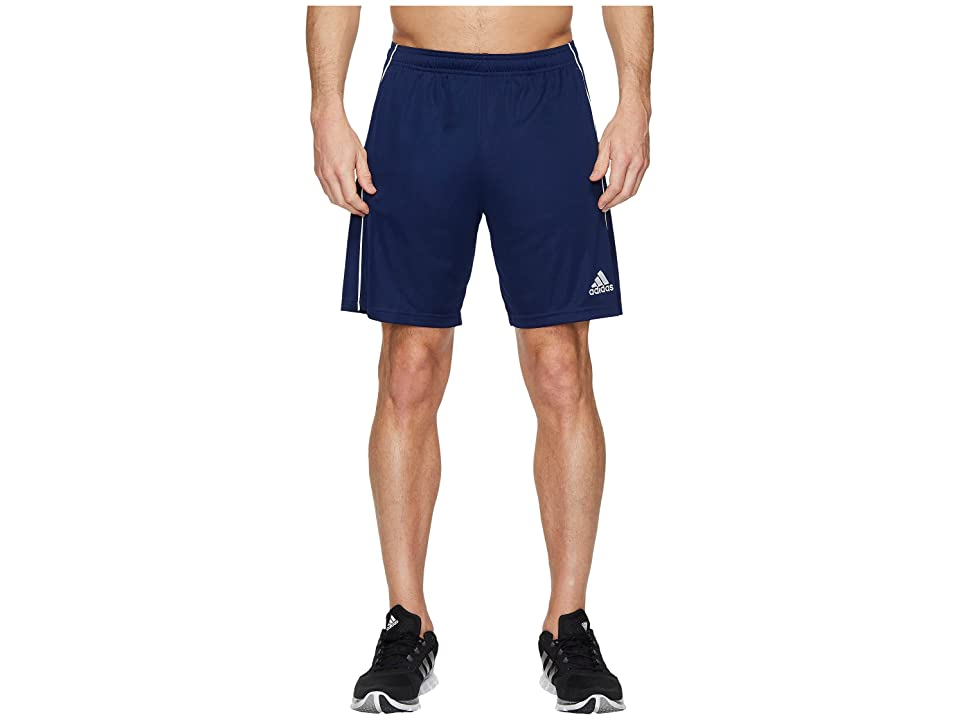 adidas Core18 Training Shorts (Dark Blue/White) Men