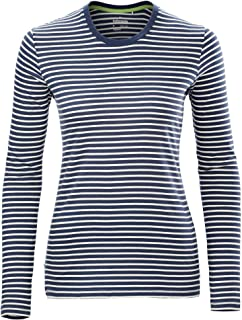 Kathmandu Candy Stripe Long Sleeve Crew Tee Regular Womens Fit Women's
