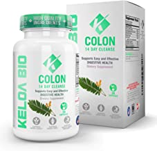 Premium Colon Cleanse Detox 14-Day Quick Start Program-Remove Toxins All Natural & Healthy Ingredients Advanced & Safe Formula Perfect for Men & Women 28 Capsules