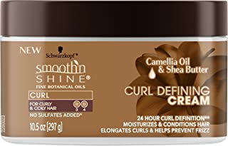 Smooth 'n Shine Curl Defining Cream for Curly Hair, 10.5 Ounces