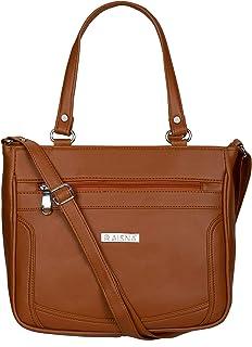 Aisna Women's Kate Handbag(ASN-200)(Tan)