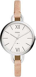 Fossil Women's Analogue Quartz Watch With Leather Strap Es4357