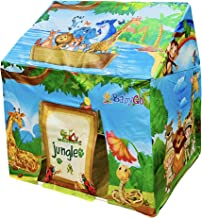 BabyGo Indoor Kids Jungle World Play Tent House (Multicolor)
