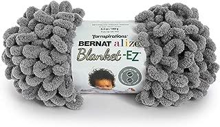 Bernat 16103737014 Alize Blanket-EZ Yarn, Dark Gray
