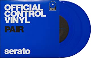 Serato SCV-PS-BLU-7 7-inch Control Vinyl Blue Pair