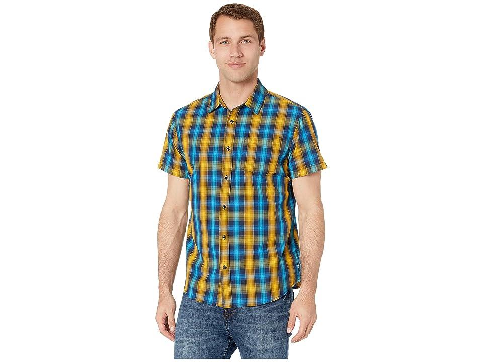 Prana Mick Shirt (Blue Anchor) Men