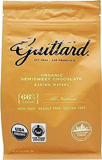GUITTARD Organic 66% Chocolate Baking Wafers, 12 OZ