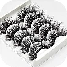 Nice warm Mix 5Pairs Natural False Eyelashes Fake Lashes Long Makeup 3D Mink Lashes Eyelash Extension Mink Eyelashes For Beauty,3D-48