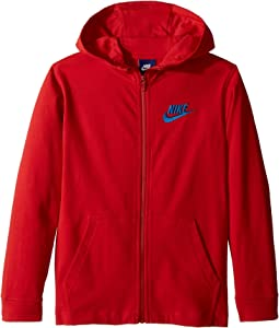 Nike Kids - Sportswear Full-Zip Hoodie (Little Kids/Big Kids)