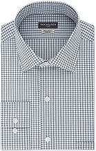 Van Heusen Mens Dress Shirt Danish Mini Checkered Pocket