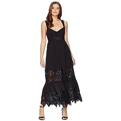 Free People Caught Your Eye Maxi Dress (Black) Women