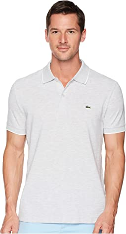 Short Sleeve Solid Textured Slub Pique Regular