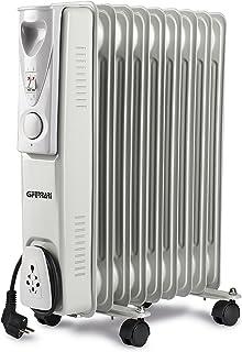 Ferrari G60009 - Calefactor (Radiador de aceite eléctrico, Aceite, Interior, Piso, Blanco, 2000 W)